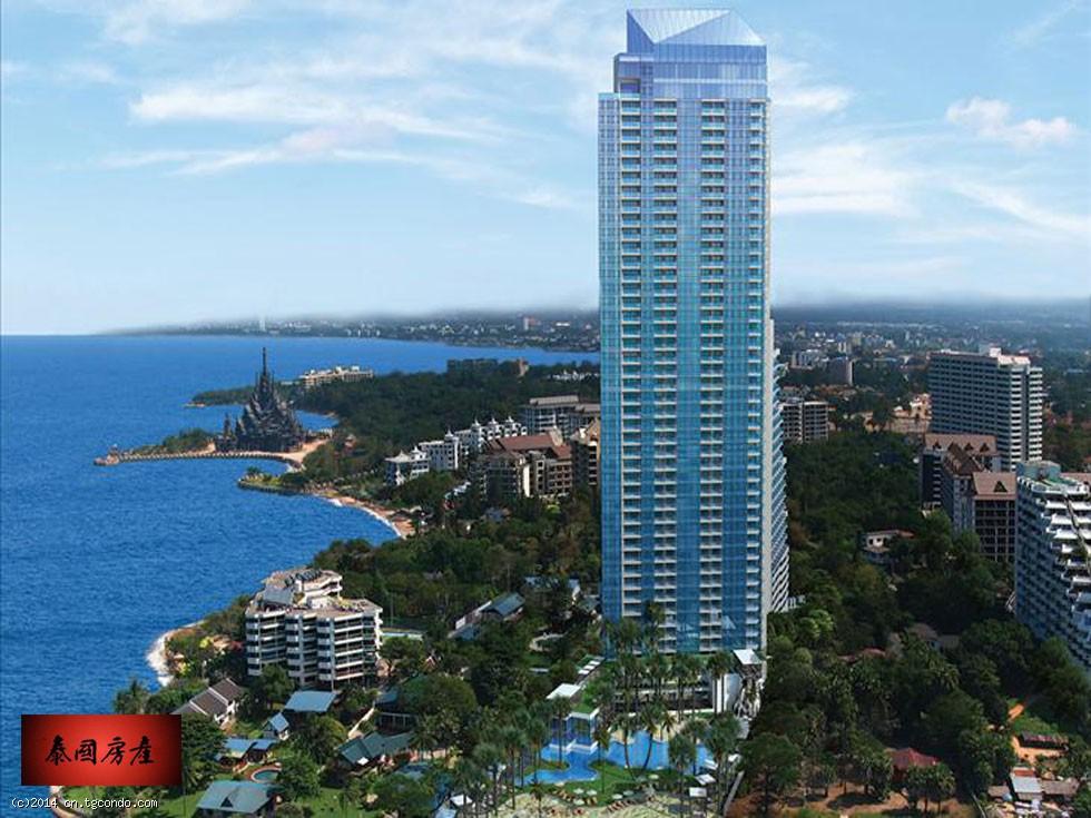 泰国芭堤雅棕榈岛私人沙滩公寓The Palm