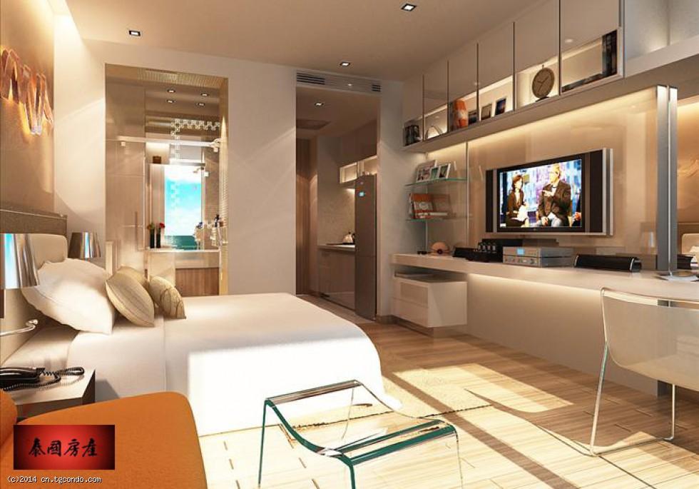 The Palm 泰国芭堤雅棕榈湾私人沙滩公寓