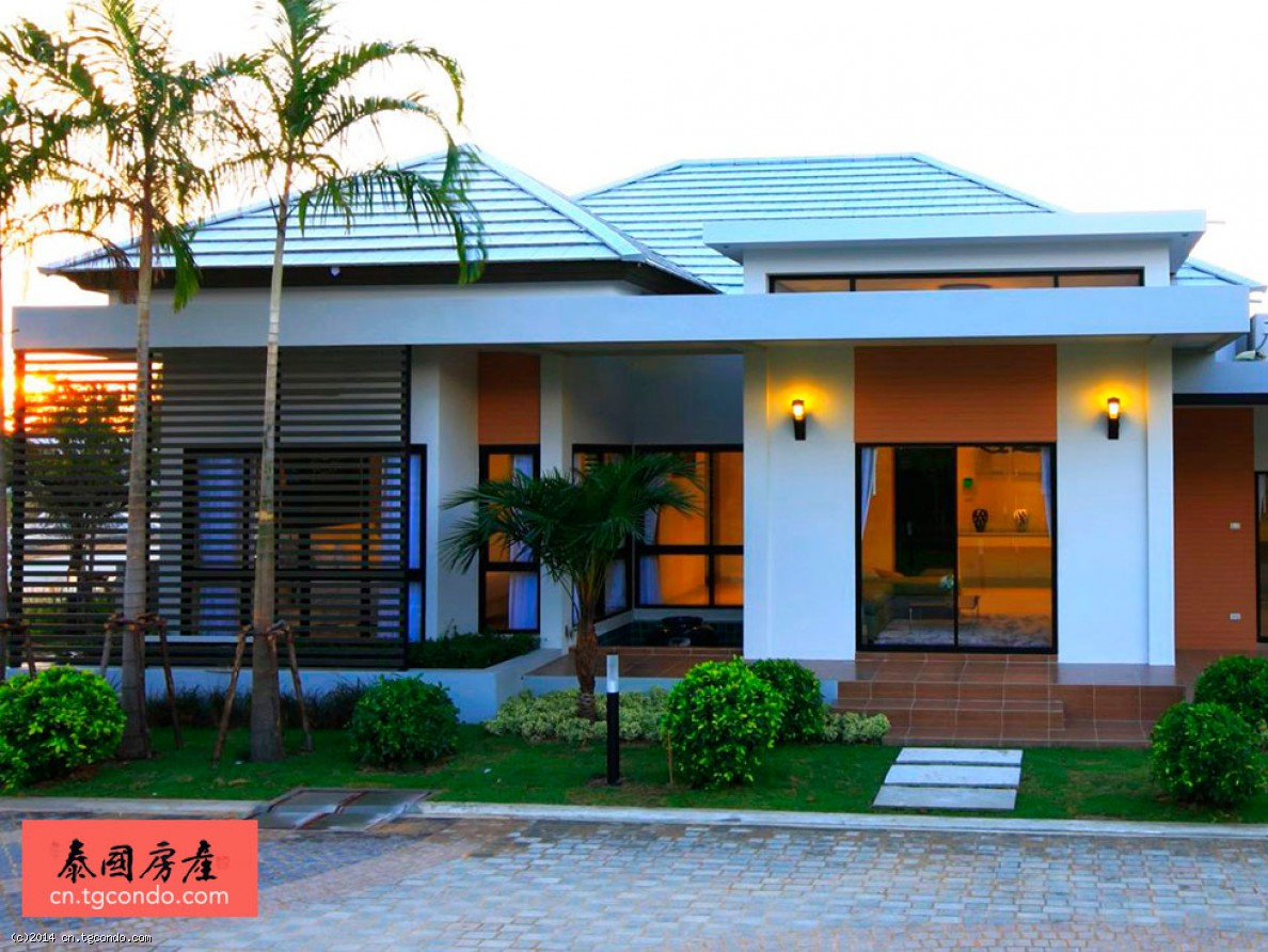泰国芭提雅别墅出租300平米私人泳池patta