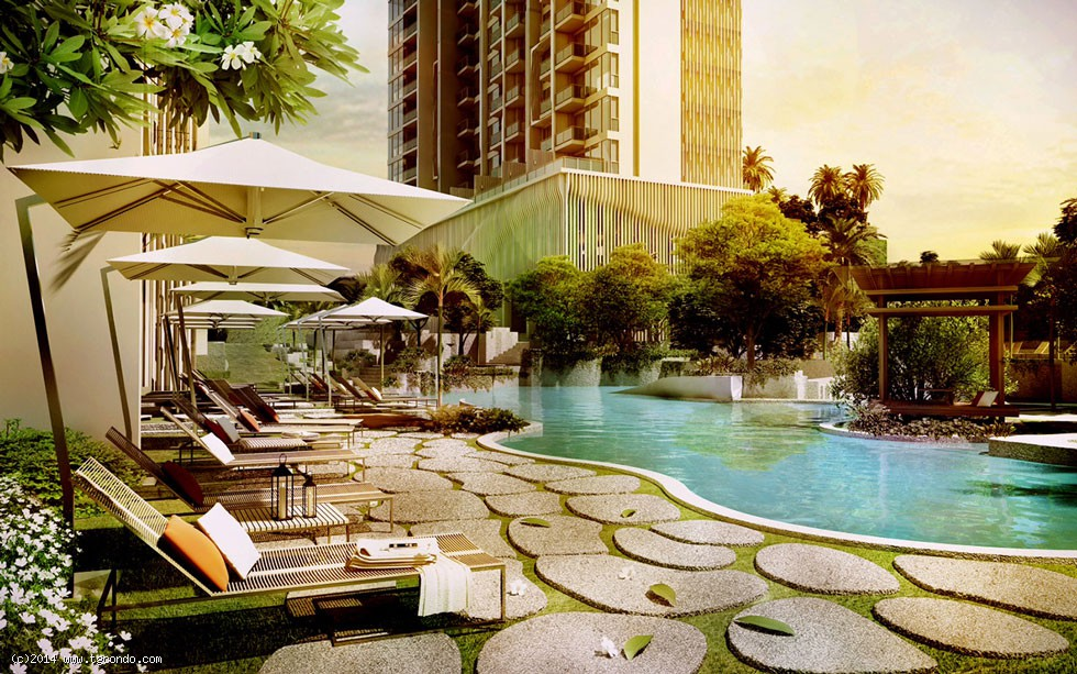 泰国芭提雅富人区里维拉海景公寓 Riviera Pattaya