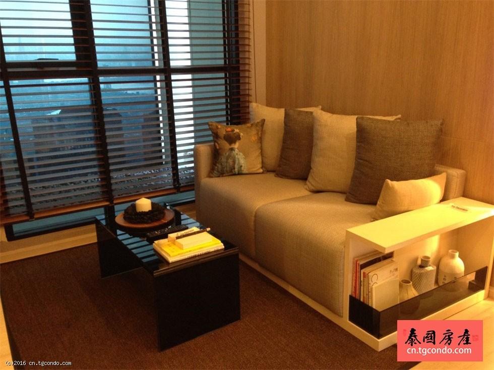 """泰国曼谷""""超级塔""""旁日本风格公寓Rhythm Asoke 2"""