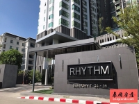 泰国曼谷通罗区高层楼盘2房,Rhythm Sukhumvit 36-38