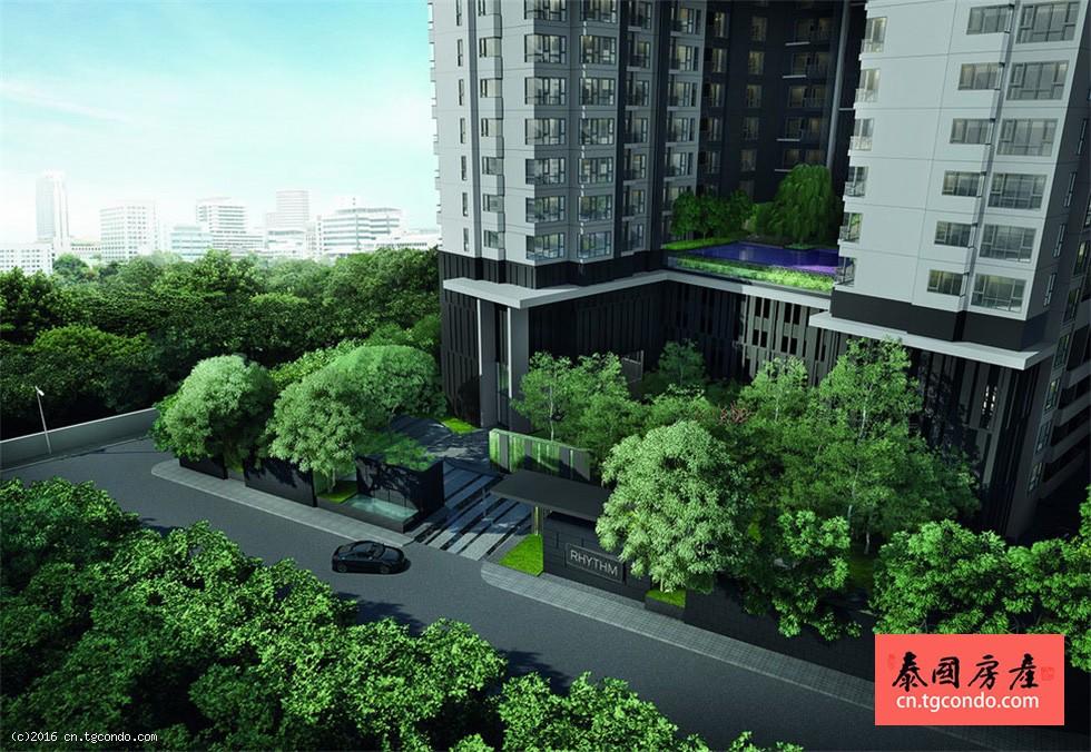 泰国曼谷通罗高层楼盘 Rhythm Sukhumvit 36-38