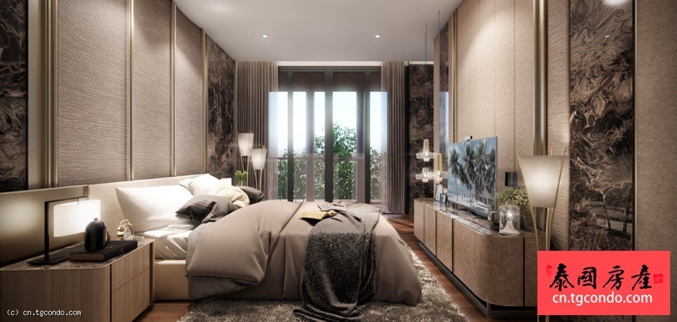泰国超级豪宅别墅Santiburi The Residences