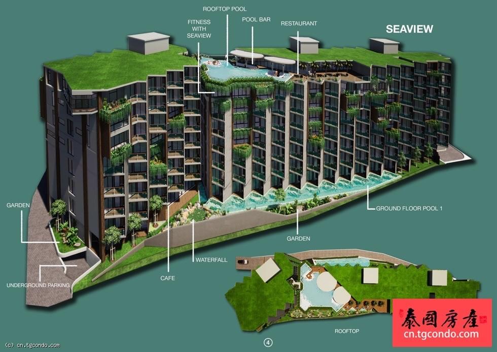 泰国普吉岛SERENE泳池公寓
