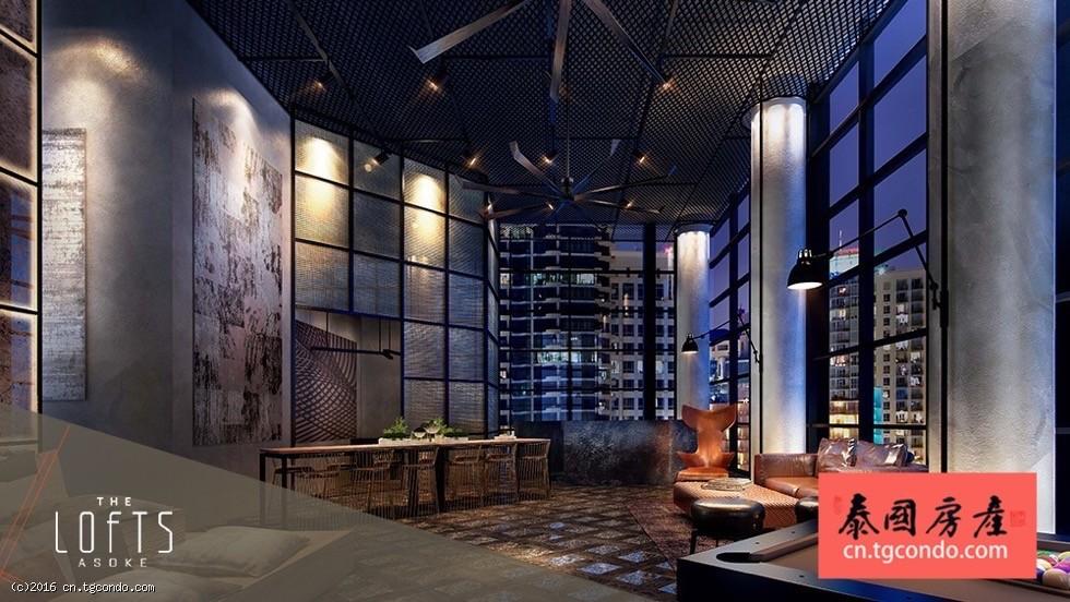 泰国曼谷最新阁楼风格公寓:The Lofts Asoke