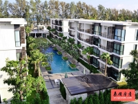 泰国普吉岛拉威海滩,水岸春风公寓