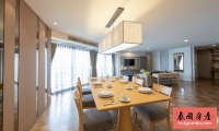 泰国曼谷120平三房三卫花园公寓出租