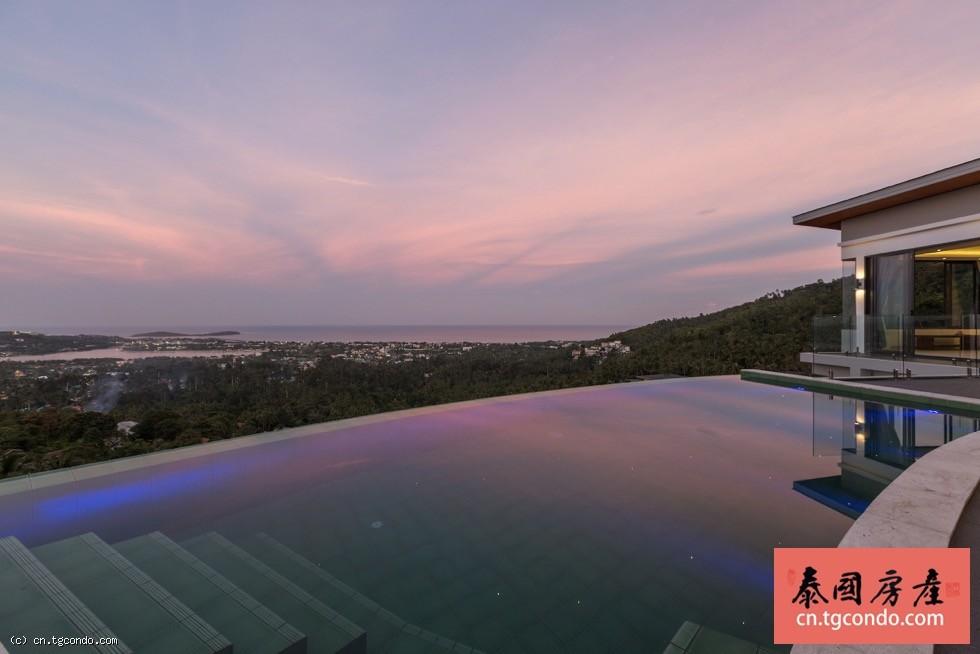 泰国苏梅岛三房四卫维多利亚海景别墅