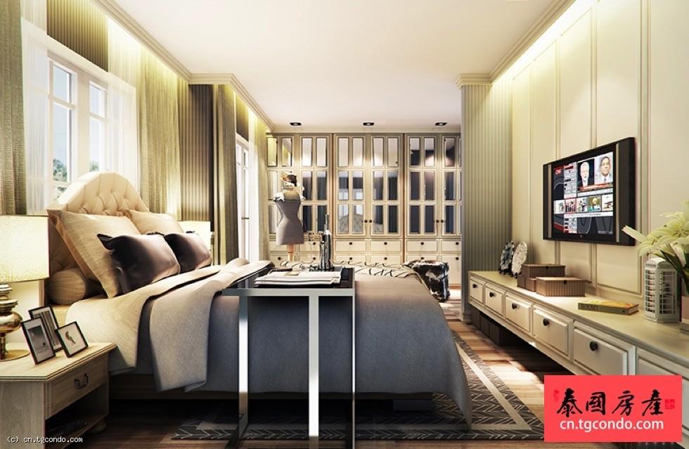 泰国芭提雅英伦风格双层独栋度假别墅