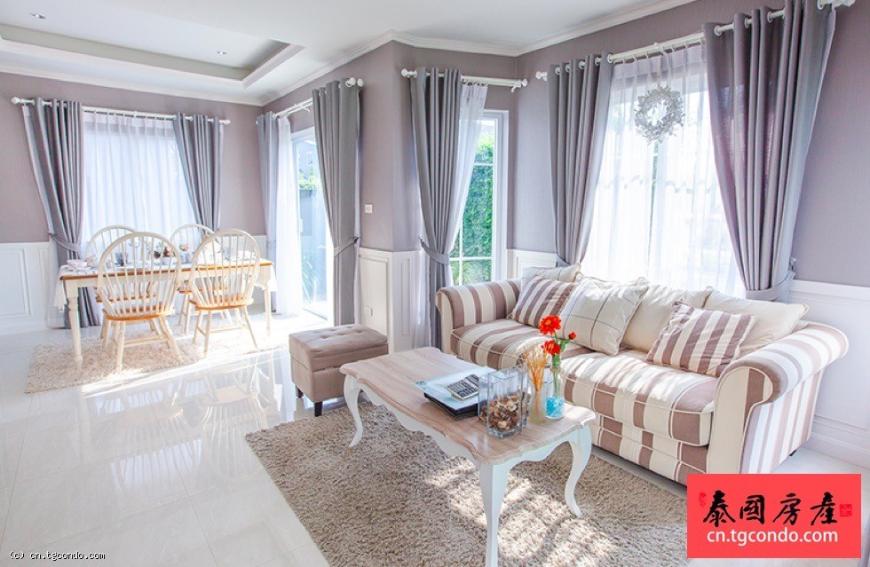 泰国芭提雅英伦风格度假独栋别墅