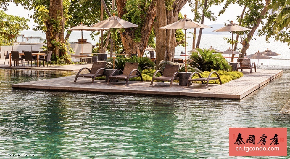 泰国芭堤雅豪宅99平米Zire私家海滩一线海景