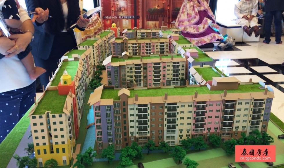 泰国房屋展销会:售价低于200万泰铢公寓依旧火爆