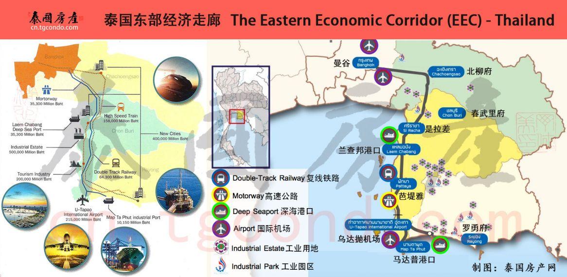 泰国东部经济走廊EEC特区