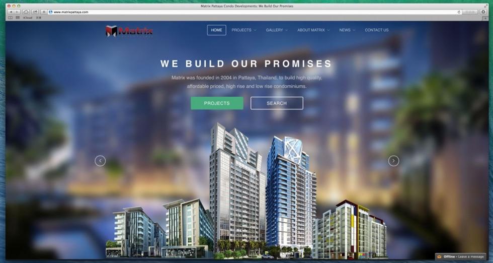 芭提雅房地产巨头矩阵开发官方新网站