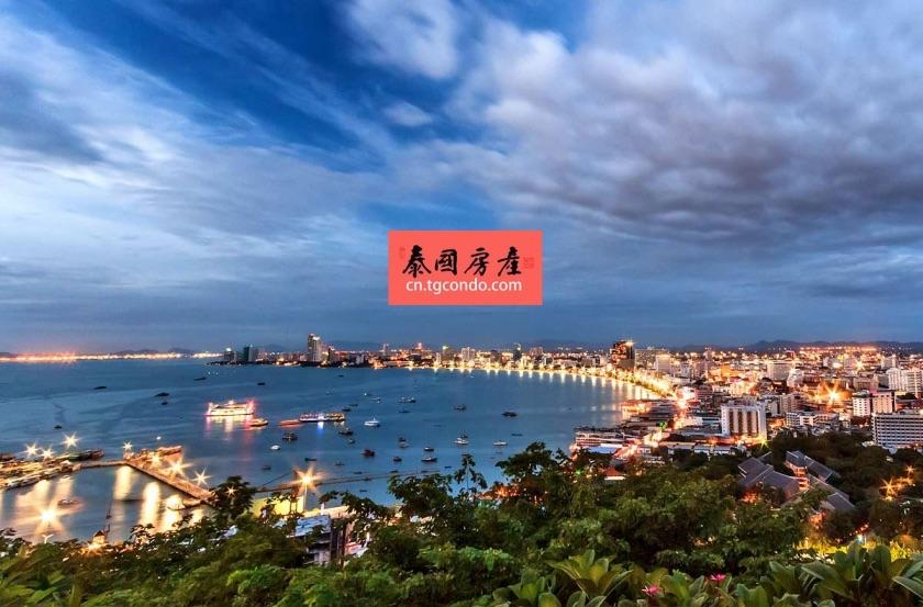 泰国滨海城市芭堤雅