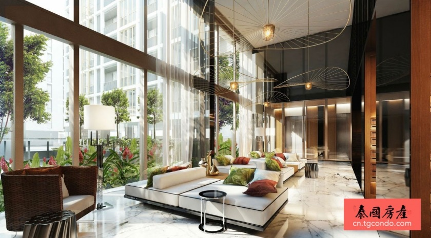 泰国曼谷Sansiri项目Hasu Haus