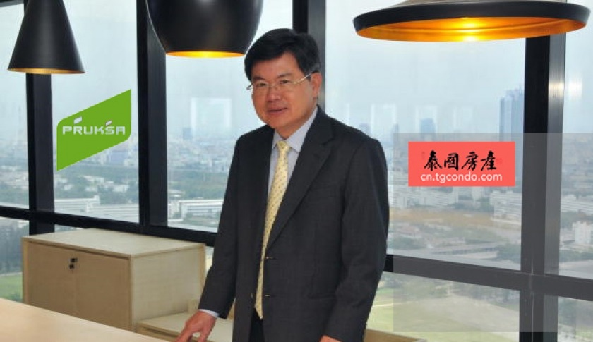 Pruksa房地产公司总裁兼首席执行官Thongma Vijitpongpun