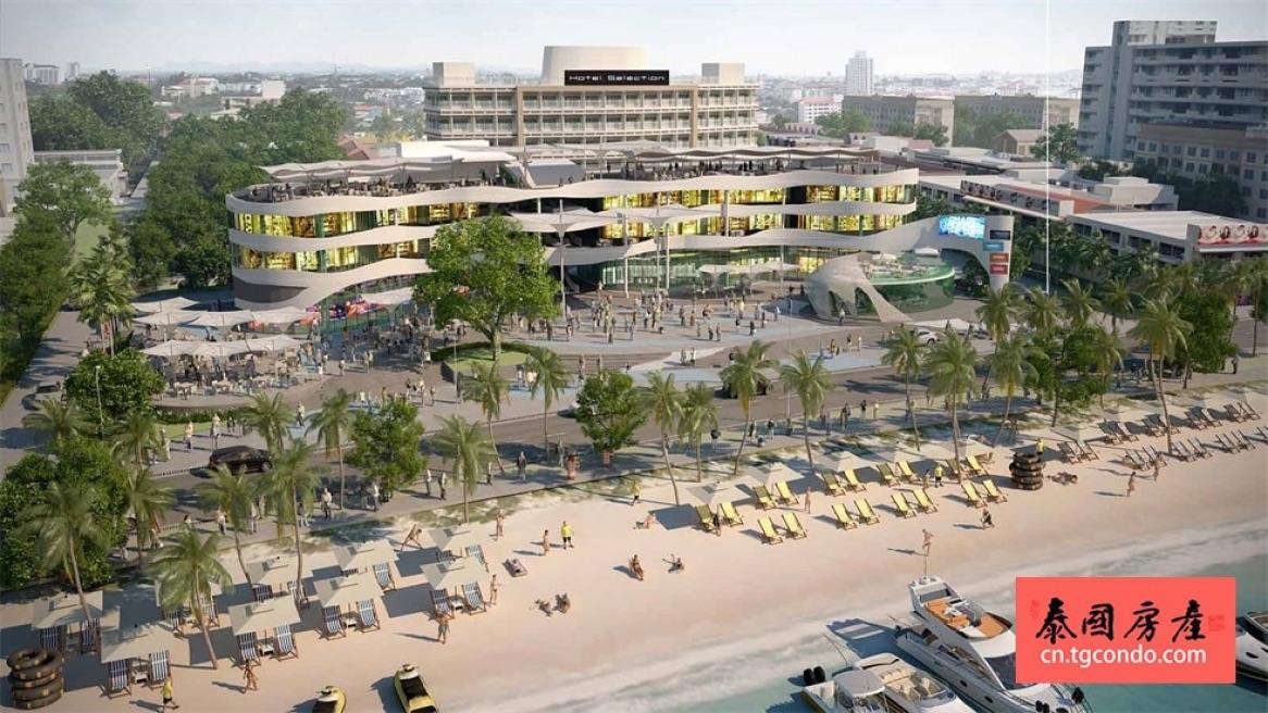 泰国芭提雅最新购物中心海湾The Bay