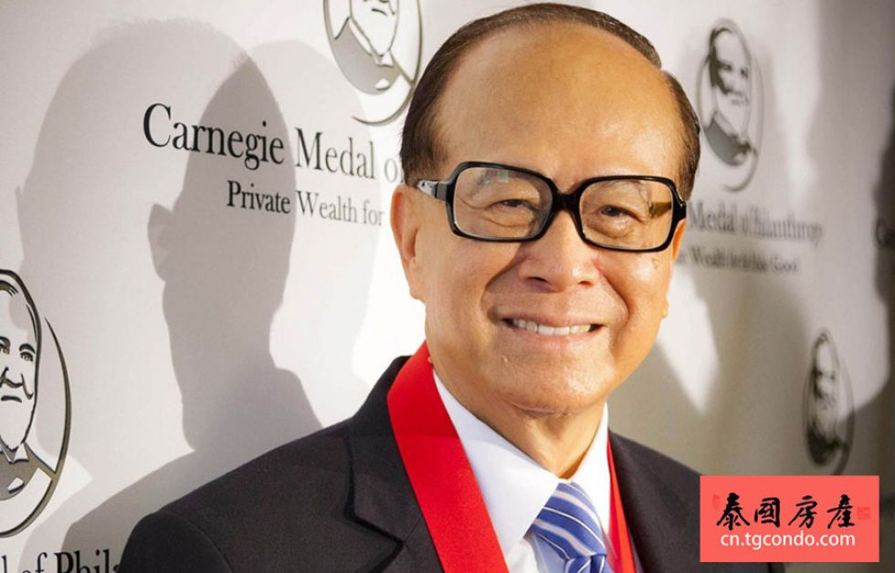 李嘉诚投资泰国普吉岛房地产,开发大型旅游地产项目