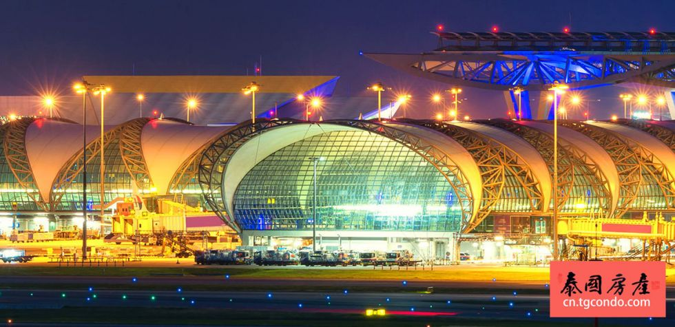 泰国曼谷素旺那普国际机场