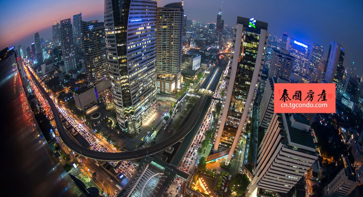 泰国曼谷BTS轻轨沿线:沙吞区
