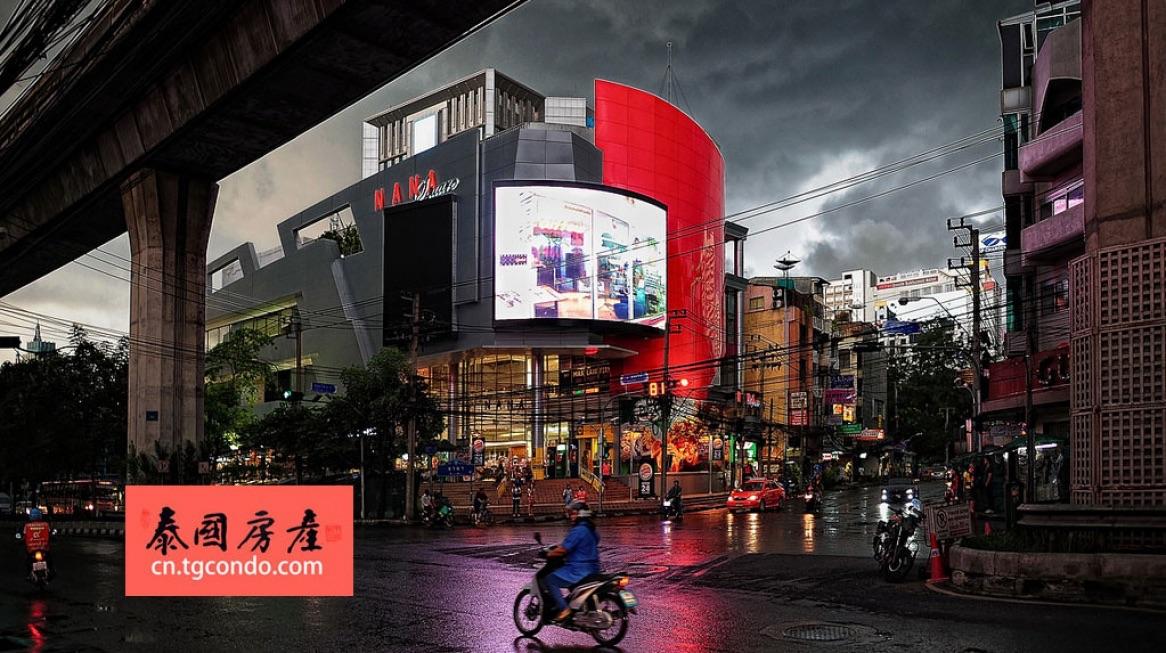 曼谷素坤逸街景