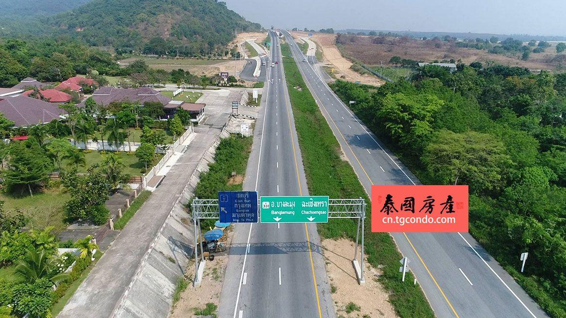 泰国芭堤雅乌达抛机场高速公路即将通车