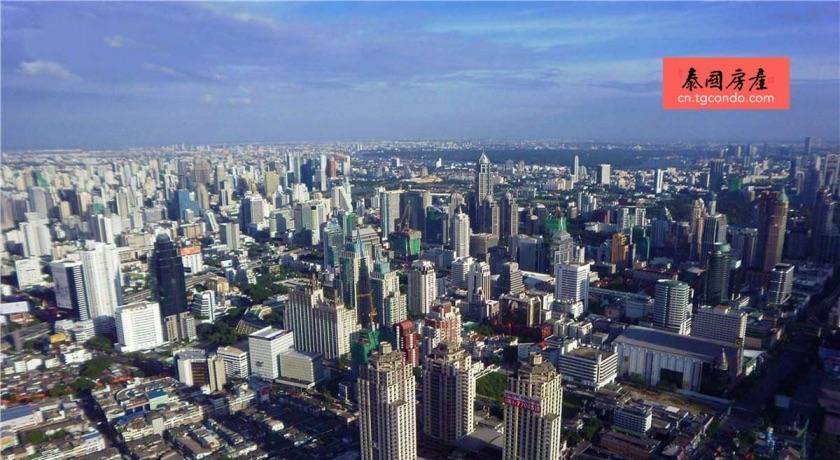 泰国曼谷城市全景