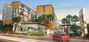 芭堤雅北区信托居公寓Trust Condo North Pattaya