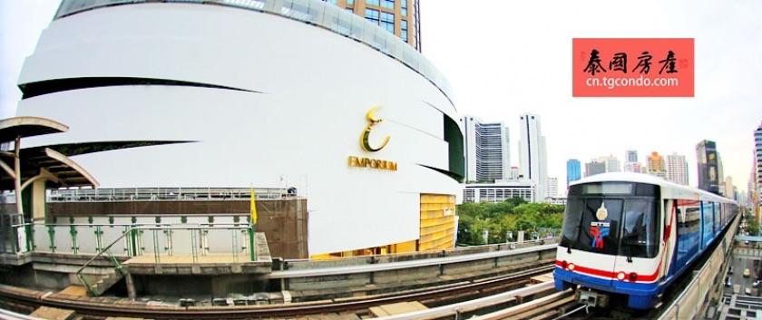 泰国澎蓬站Phrom Phong新地标 构筑素坤威黄金商圈