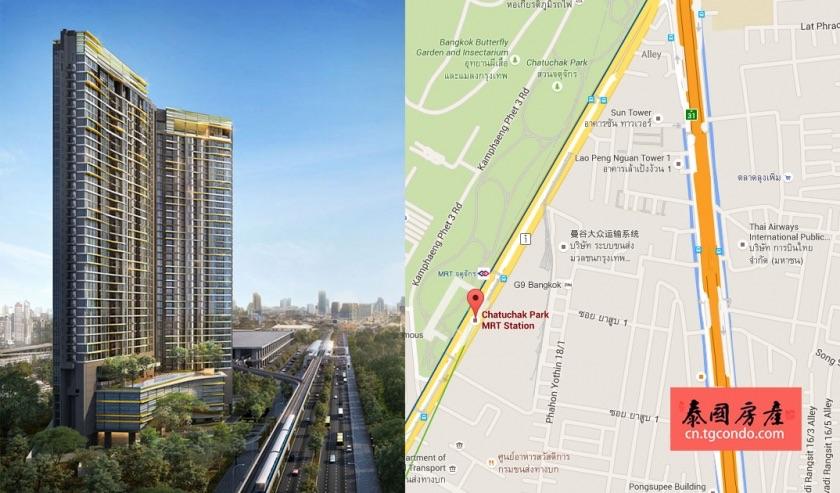 泰国曼谷未来新枢纽:乍都乍地价一路飙升