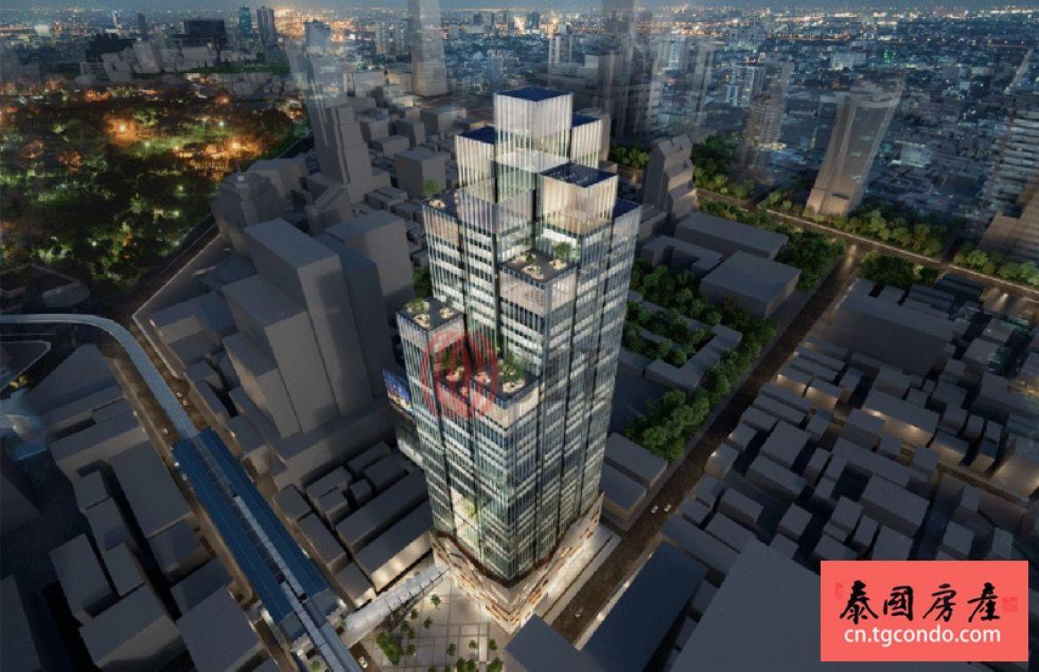 泰国曼谷是隆金融区将打造高标准办公大楼Park Silom