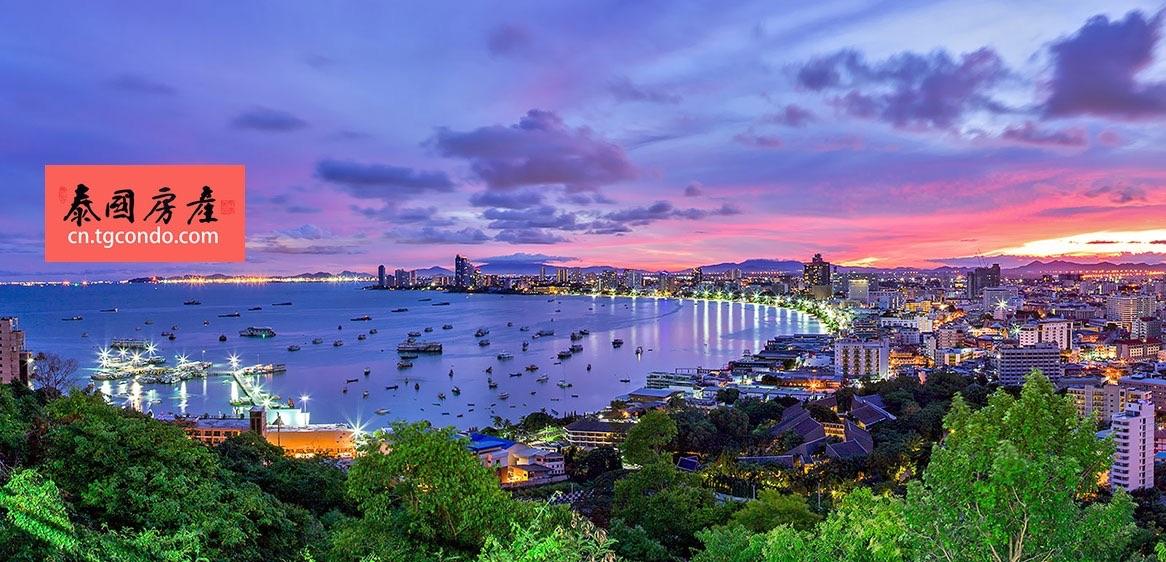 世界知名旅游城市泰国芭堤雅